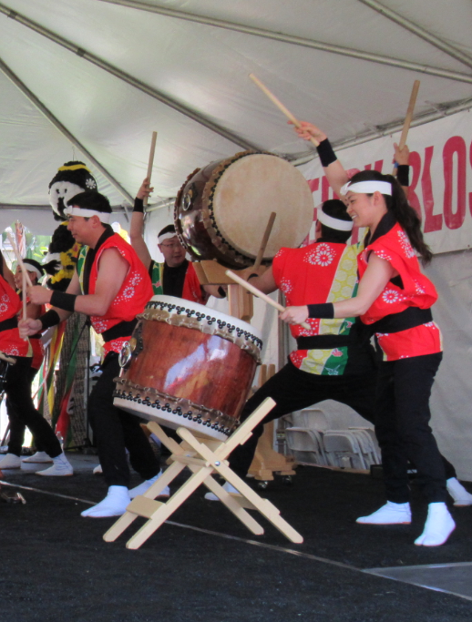 Cherry Blossom Festival Performers in Monterey Park
