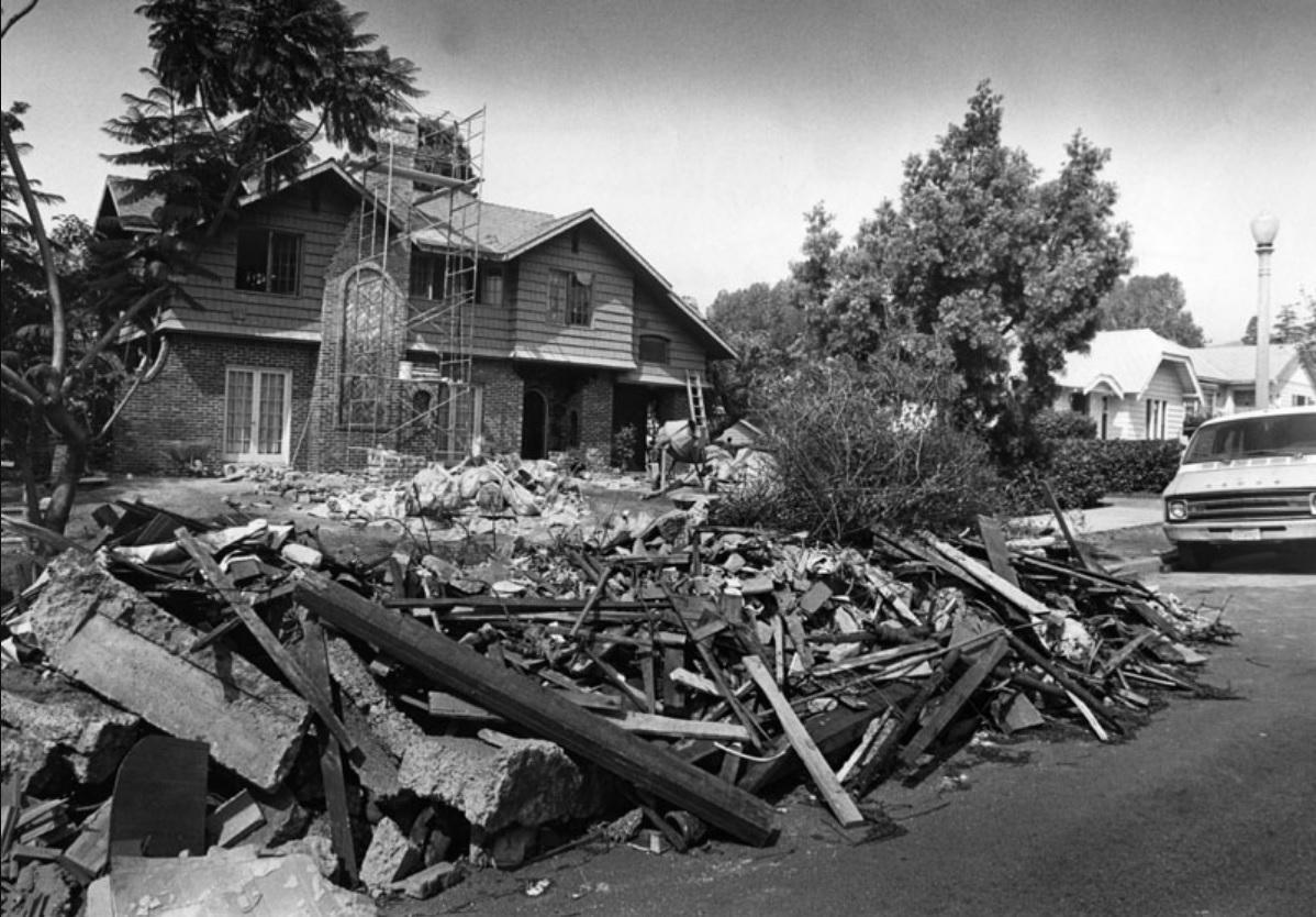Whittier Earthquake