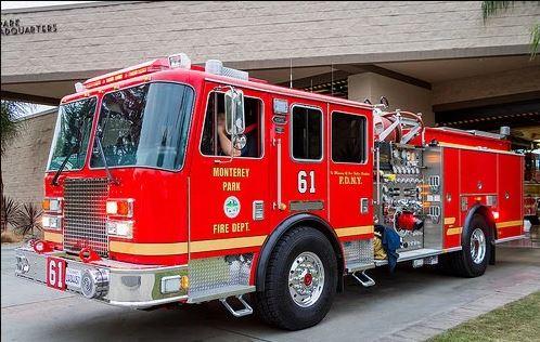 Monterey Park Fire Truck
